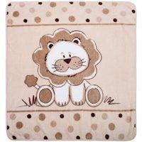 Cobertor Microfibra Leãozinho - Baby Joy