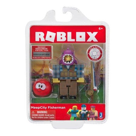 Boneco Roblox MeepCity Fisherman - Fun Divirta-se