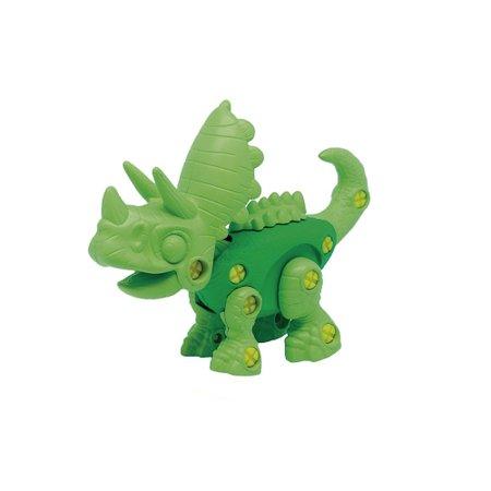 Junior Megasaur Monte seu Dino Triceratopos - Fun Divirta-se
