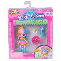 Shopkins Happy Place Kit Mini Shoppies Cozinha Garinhos Kate Íris - DTC