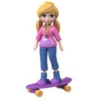 Polly Pocket com Skate - Mattel