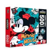 Quebra Cabeça 500 Peças 90 Anos Minnie Mouse - Toyster