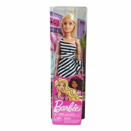 Barbie Fashion and Beauty Vestido Listrado - Mattel