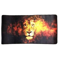 Mouse Pad Gamer Extra Grande 700x350x3mm Base Antiderrapante Leão Exbom MP-7035C