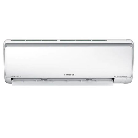 Ar Condicionado Split Hi Wall Samsung Digital Inverter 8 Polos, 17000 BTUs, Frio - AR18NVFPCWKXAZ