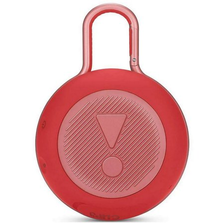 Caixa de Som Bluetooth à Prova D´agua JBL Clip 3 Vermelha