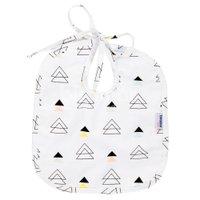Babador para Bebê Estampa New York Triângulo Colorido