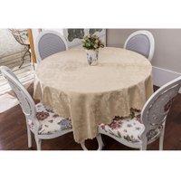 Toalha de mesa, Retangular, Jade Bege - 170 cm x 270 cm