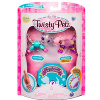 Twisty Petz Surpresa Rara Panda Glitzy e Coelho Fluffles - Sunny