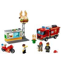 Lego City Combate ao Fogo no Bar de Hambúrgueres
