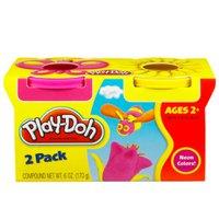 Play Doh Massinha 2 Cores Rosa e Amarela - Hasbro