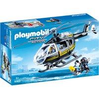 Playmobil Tática com Helicóptero - Sunny