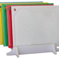 Conjunto de 5 (cinco) tabuas em polietileno - coloridas - médias