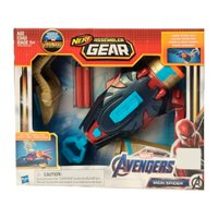 Nerf Assemble Gear 2.0 Aranha de Ferro - Hasbro