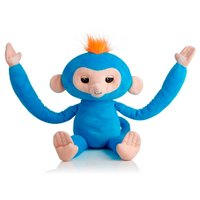 Pelúcia Interativa Huglings Monkey Blue - Candide