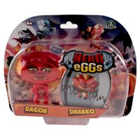 Hero Eggs Double Blister Dagon e Drakko - Candide