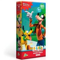 Mini Quebra Cabeça A Casa do Mickey Mouse Pateta 60 Peças - Toyster