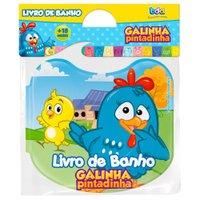 Livro de Banho Galinha Pintadinha - Toyster