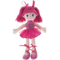 Boneca Bailarina Glitter Fucsia - Buba