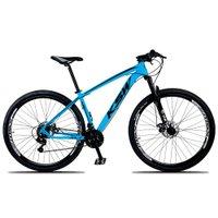 Bicicleta XLT Aro 29 Quadro 15 Suspensão 21 Marchas Freio a Disco Alumínio Azul Preto - KSW