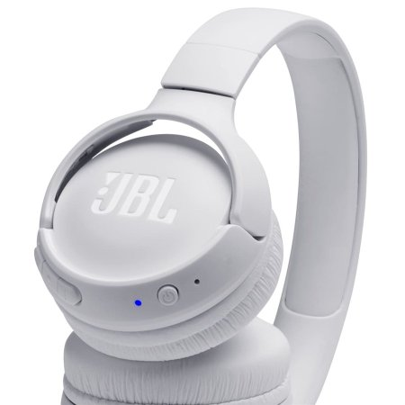 Fone de ouvido Bluetooth JBL Tune 500BT Branco