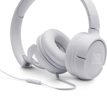 Fone de Ouvido com Microfone JBL Tune 500 Branco