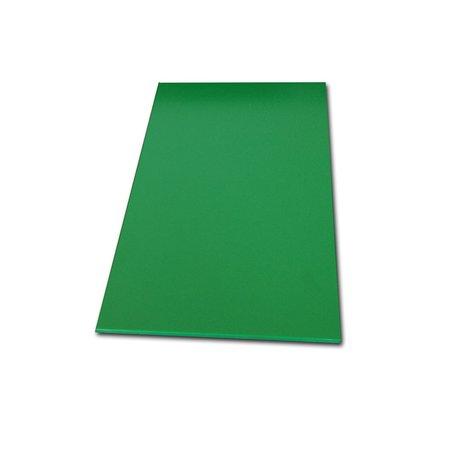 Tabua de Corte Lisa em Polietileno - Verde - 50 x 30