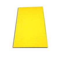 Tabua de Corte Lisa em Polietileno - Amarela - 50 x 30