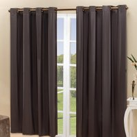 Cortina Sala Quarto 2x1,60m Blackout Blecaute Lisa Tabaco