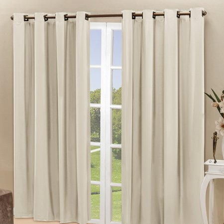 Cortina Sala Quarto 2x1,60m Blackout Blecaute Lisa Bege