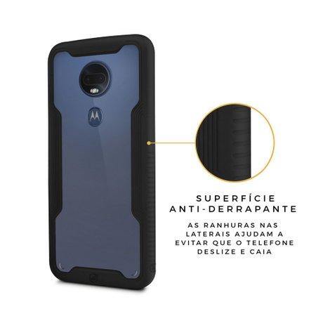 Capa Dual Shock para Motorola Moto G7 - Gorila Shield