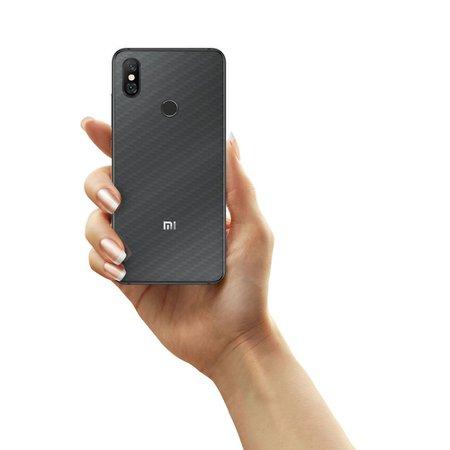Película Traseira Fibra de Carbono Transparente para Xiaomi Mi 8 - Gorila Shield