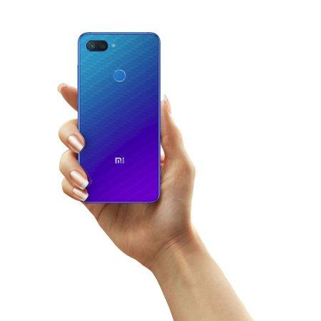 Película Traseira Fibra de Carbono Transparente Xiaomi Mi 8 Lite - Gorila Shield