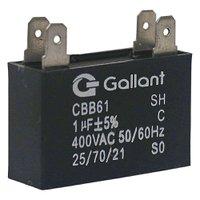 Capacitor CBB61 Gallant 1MF 400VAC - GCP10S00A - PT400