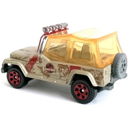 Matchbox Jeep Wrangler 93' Jurassic World GDN87- MATTEL