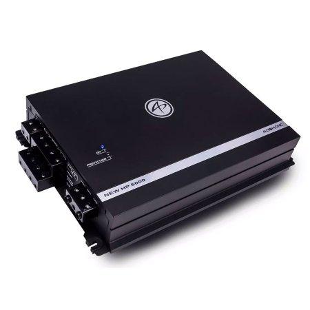 Modulo Amplificador Audiophonic Sensation New HP 5000 5 Canais 4x 105W e 1x 530W RMS 2 Ohms
