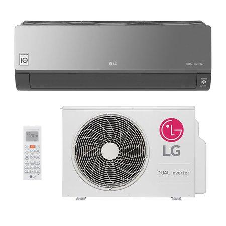 Ar-Condicionado Split Hw Dual Inverter Art Cool LG Voice 18000 Btus Quente/Frio S4NW18KLRPA.EB2
