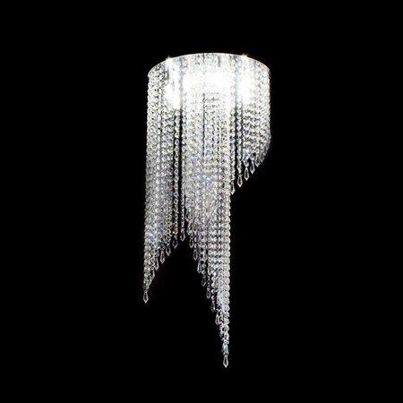 Lustre de Cristal Original Indy Ø40cm para 8 Lâmpadas G9 - JP-INDY-40