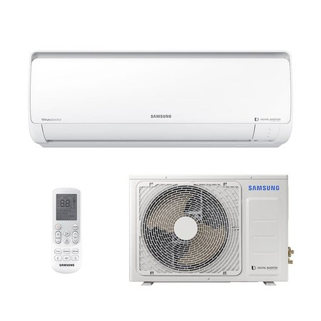 Ar-Condicionado Split Digital Inverter Samsung 11500 Btus Frio Monofásico AR12NVFPCWKNAZ