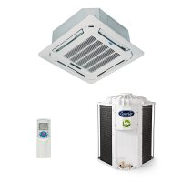 Ar Condicionado Split Cassete On/Off 48.000 Btus Frio Trifásico Carrier 40KWCD48C5