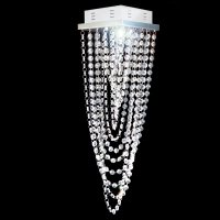 Plafon Cristal Véu De Noiva Soquete 1*Gu10 17x17x60cm- JP/TOYAMA/17