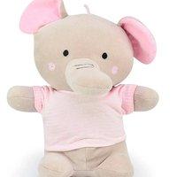 Elefantinho Camiseta Rosa Listrada - Zip
