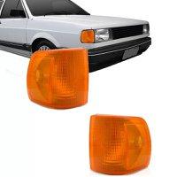 Lanterna Dianteira Pisca Volkswagen Gol Voyage Parati Saveiro 1000 1991 a 1994 Ambar Lado Esquerdo