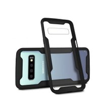 Kit Capa Dual Shock + Película Nano Gel para Galaxy S10 Plus - Gorila Shield