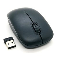 Mouse Sem Fio Preto com Scroll Exbom MS-S22