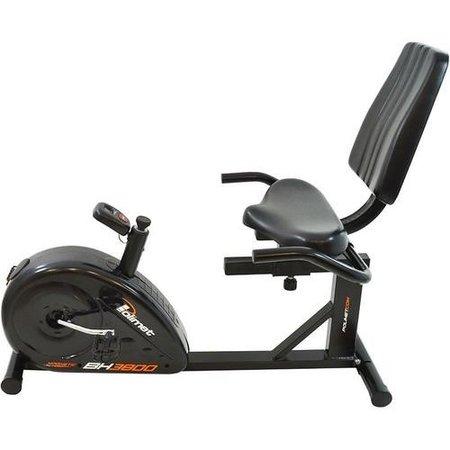 Bicicleta Ergométrica Horizontal BH-3800Polimet