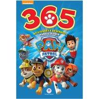 Livro Patrulha Canina 365 Atividades e Desenhos para Colorir - Ciranda Cultural