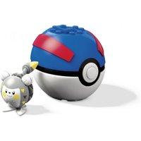 Mega Construx Pokemon Pokebola Togedemaru - Mattel