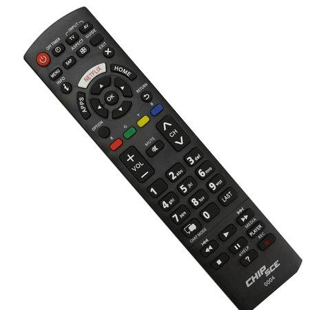 Controle Panasonic TV Com Netflix 026-0004