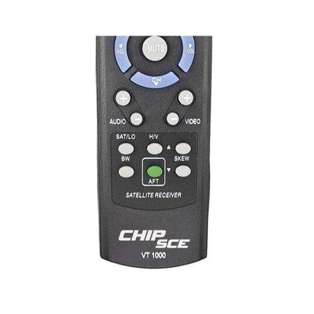 Controle Visiontec VT-1000 Preto Slim C0789 026-9975